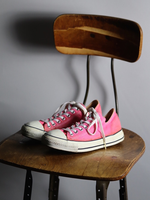 1990's Converse ALL STAR Low / Designed in USA / size 9