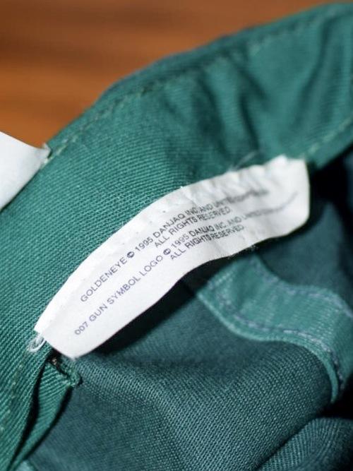 90's 007 GOLDENEYE cotton cap / 90年代 ダブルオーセブン ゴールデンアイ コットンキャップ