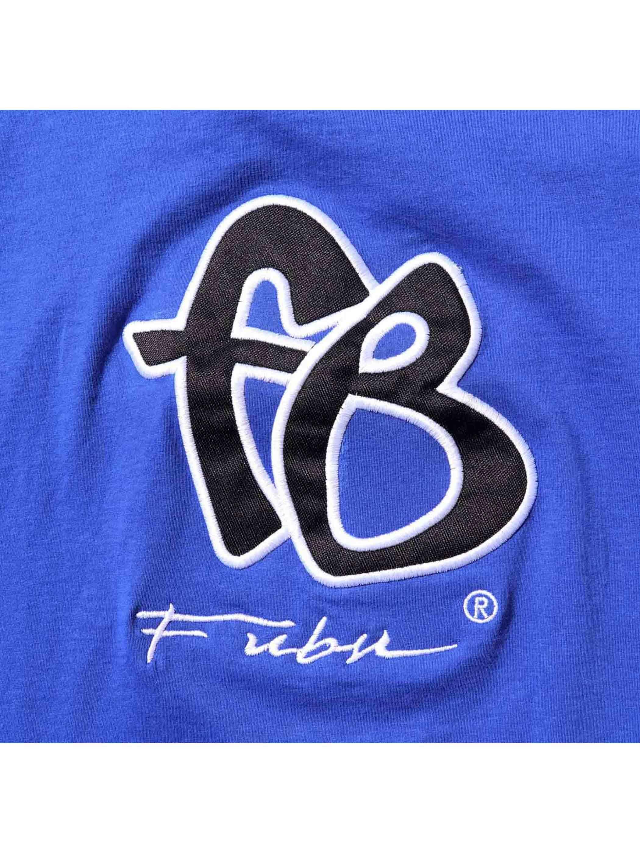 00's ブート FUBU FB刺繍ロゴ Tシャツ [About M]