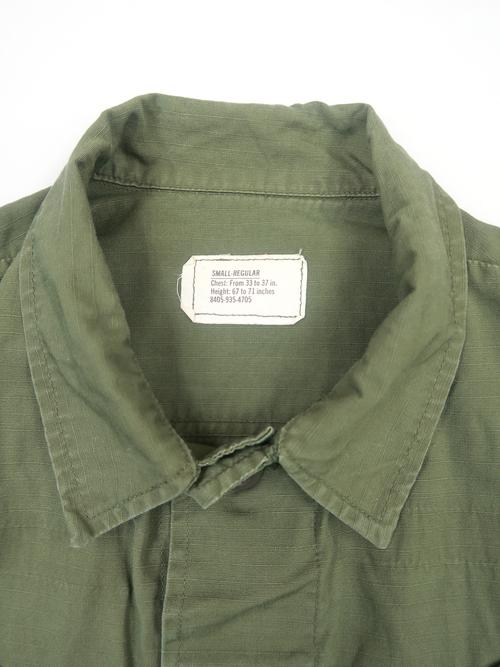 70年代 U.S.ARMY ジャングルファティーグ 4thモデル