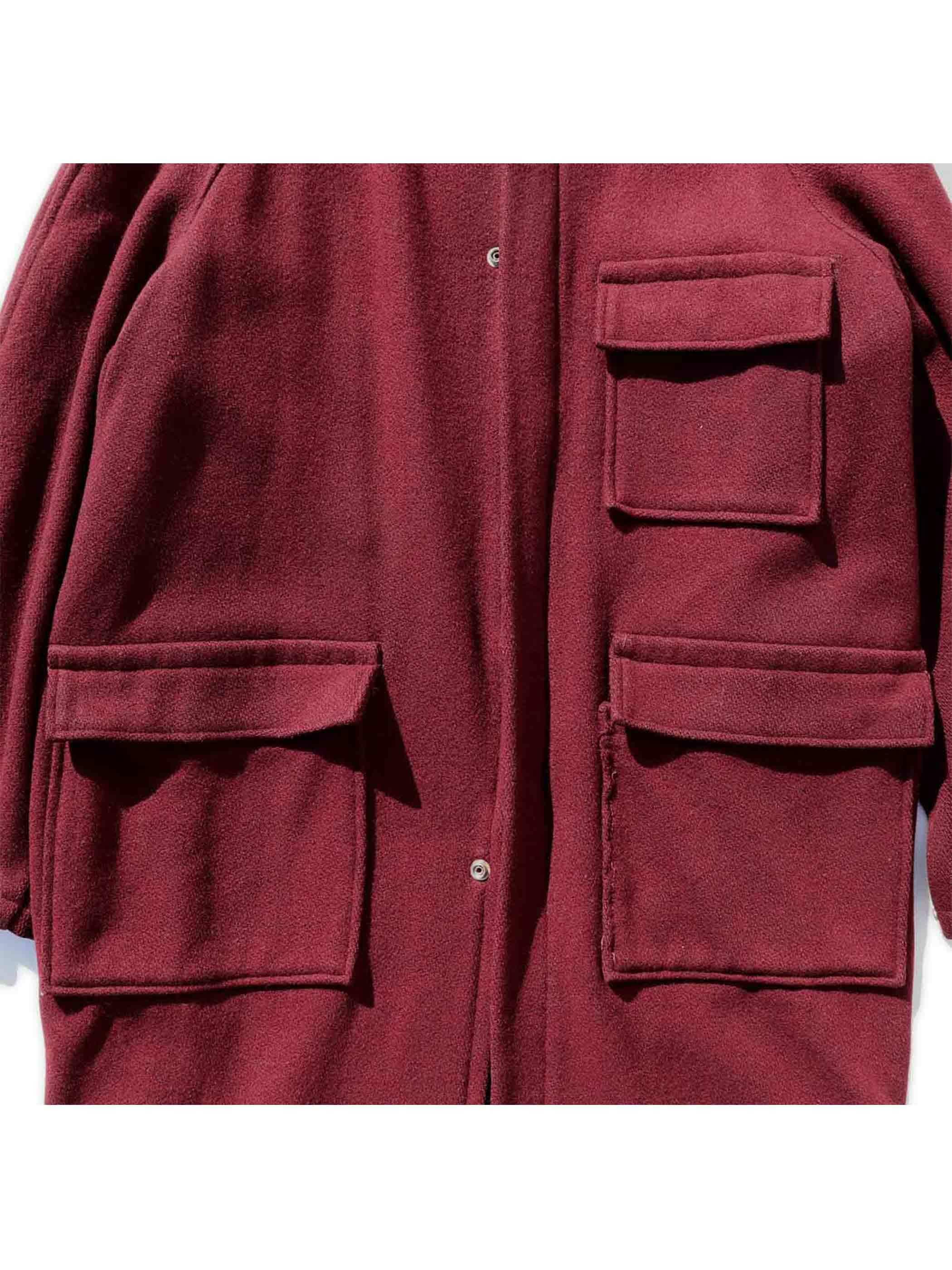 60's STANDARD OF HOLLYWOOD ウール フーデッドコート [42]