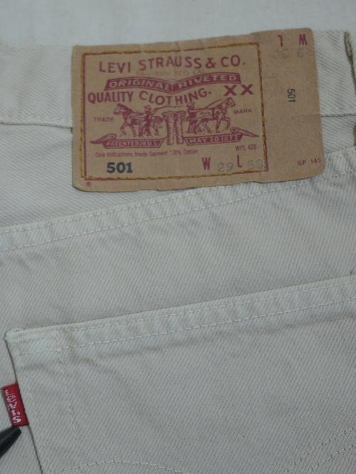 "Levi's 1990's 501 W29 ""Euro"""