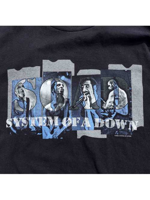 00's SYSTEM OF A DOWN ロングスリーブ プリントTシャツ [About XXL]