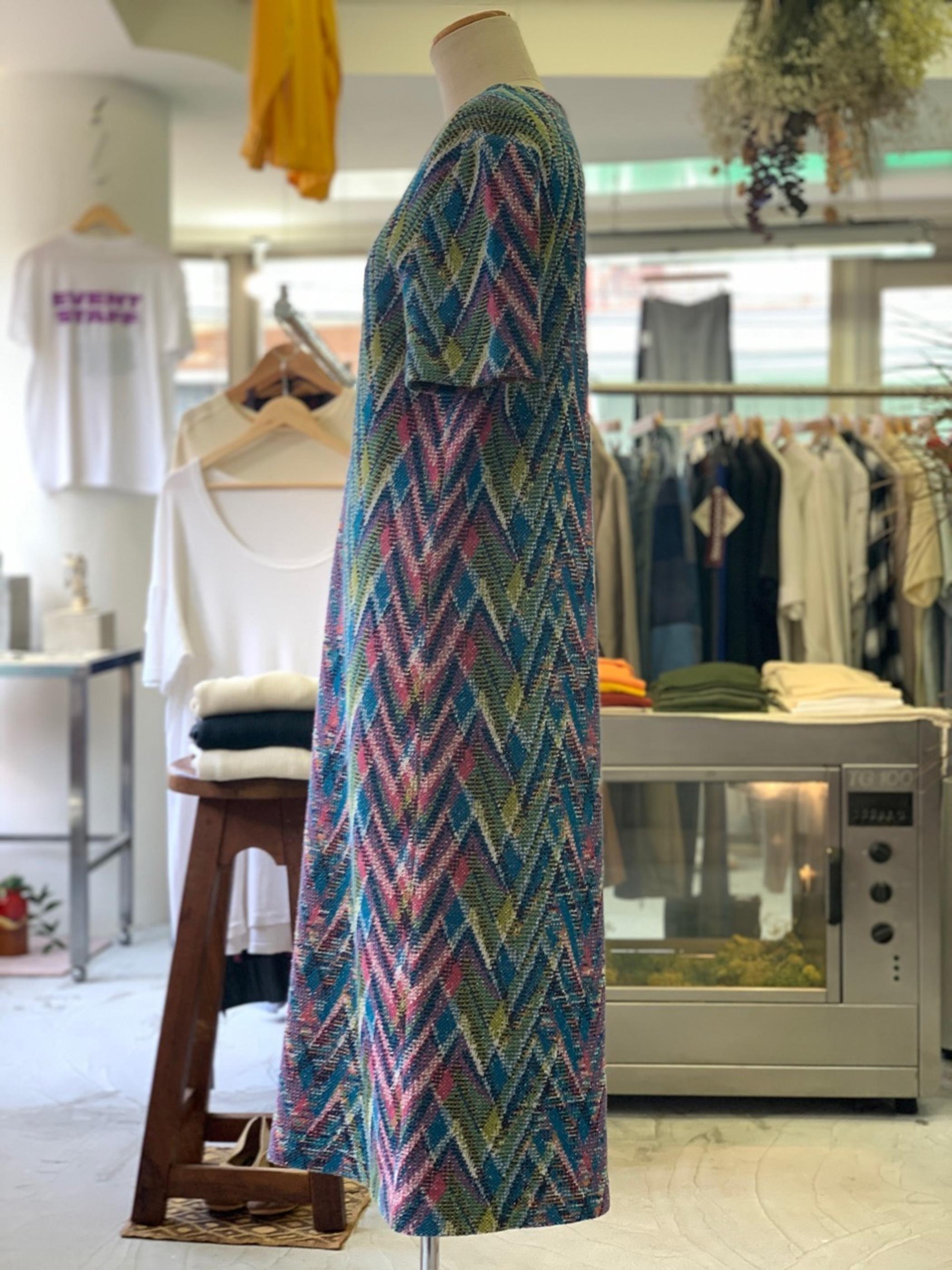 Old Missoni italian summer knit dress