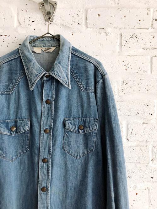 Vintage 70's USA Land Lubber Denim Shirt Jacket