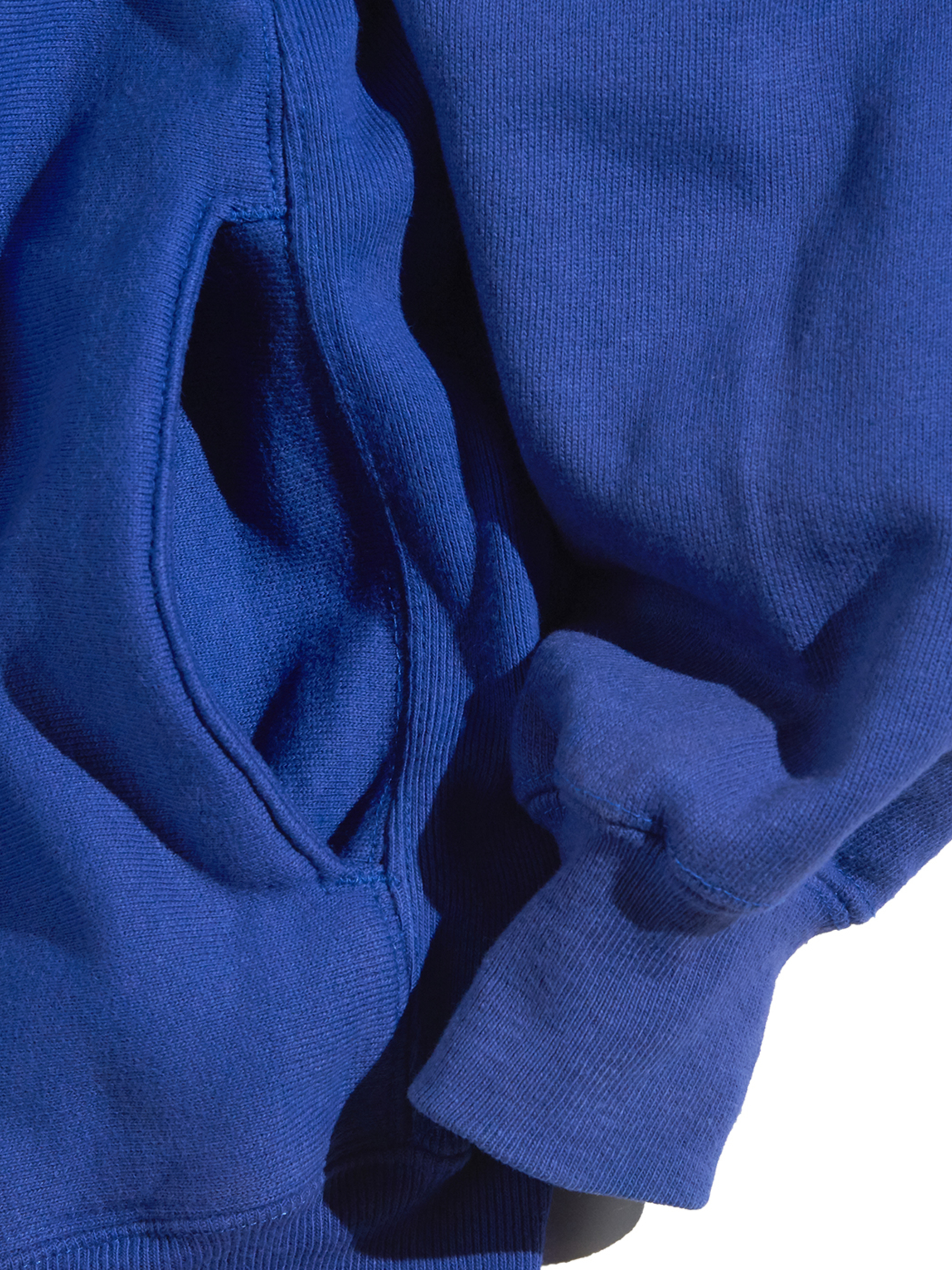 "1990s ""Champion"" R/W snap cardigan -BLUE-"