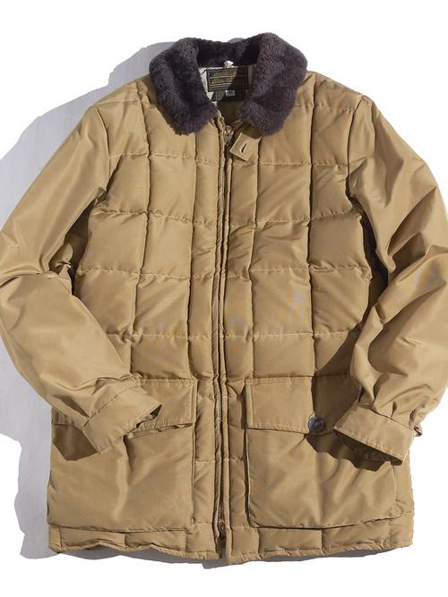 """1970s """"Eddie Bauer"""" yukon down jacket -BEIGE-"""
