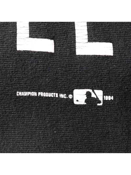90's CHAMPION USA製 GIANTS ブラック リバースウィーブ [XXL]