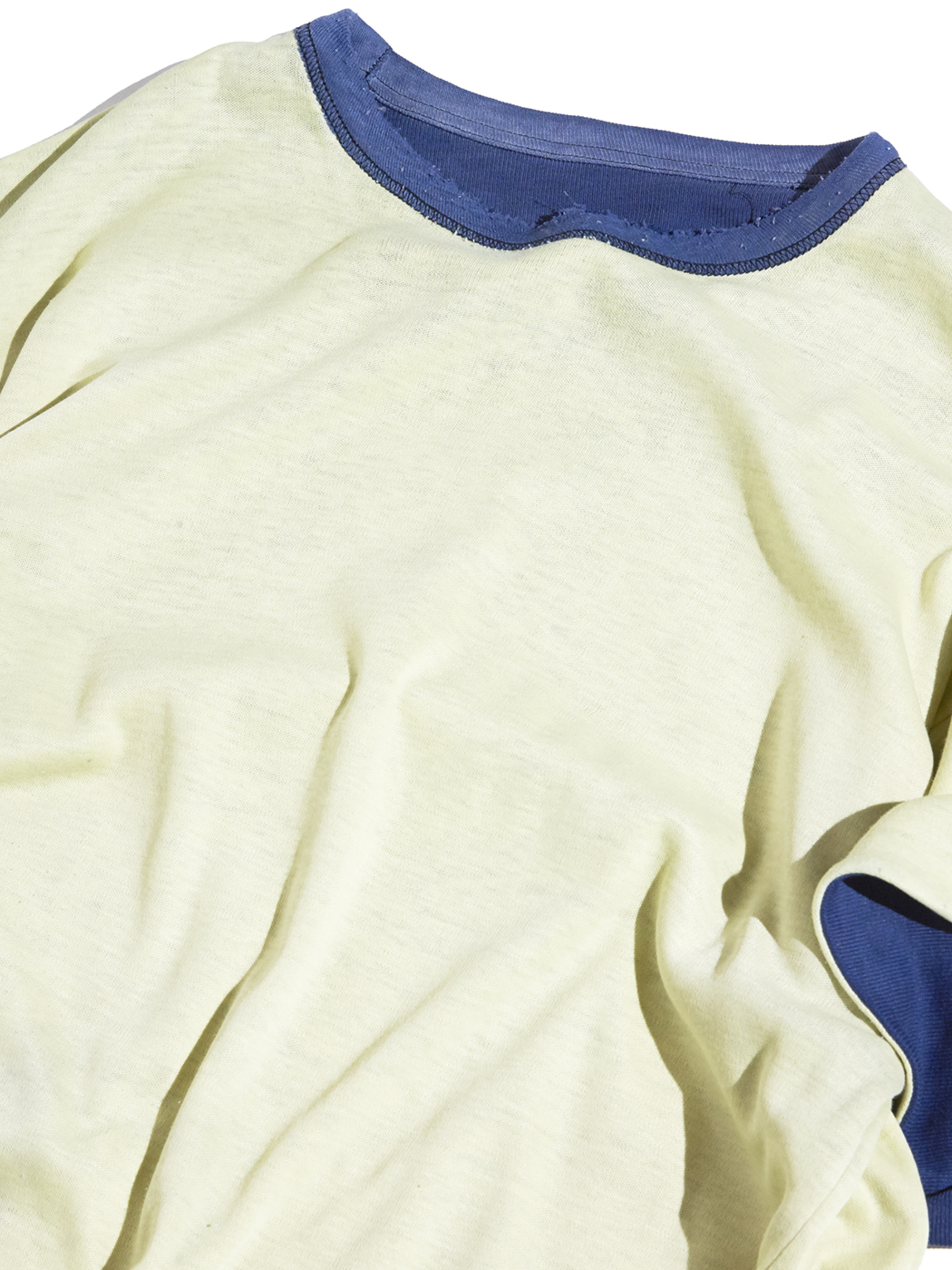 "1980s ""unknown"" double face football tee -NAVY×YELLOW-"