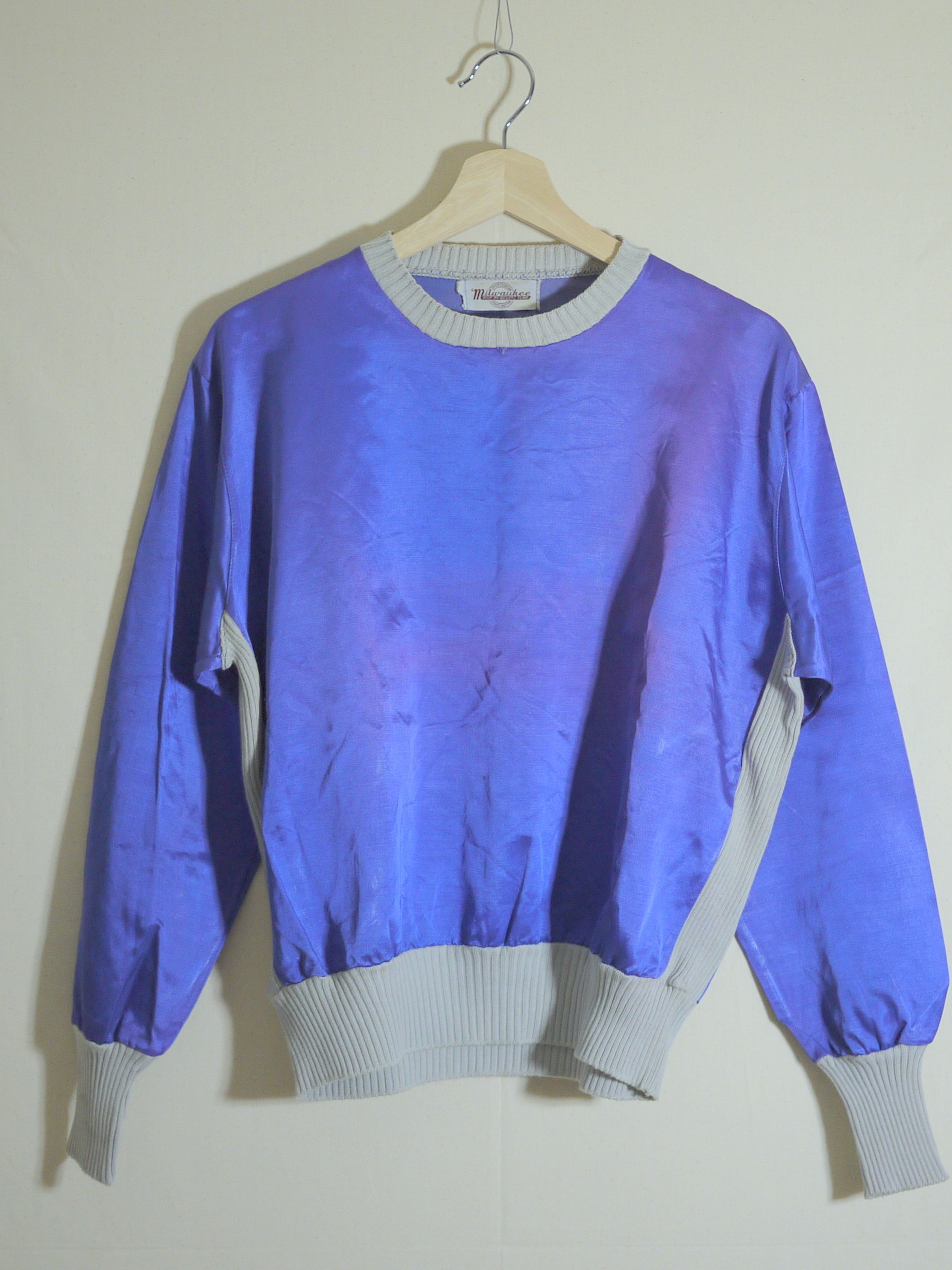 Milwaukee KNIT PRODUCTS CORP Satin pullover