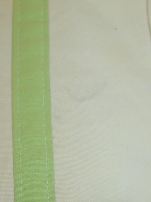 """L.L.Bean BOAT&TOTE CANVAS BAG """"Light Green"""""""