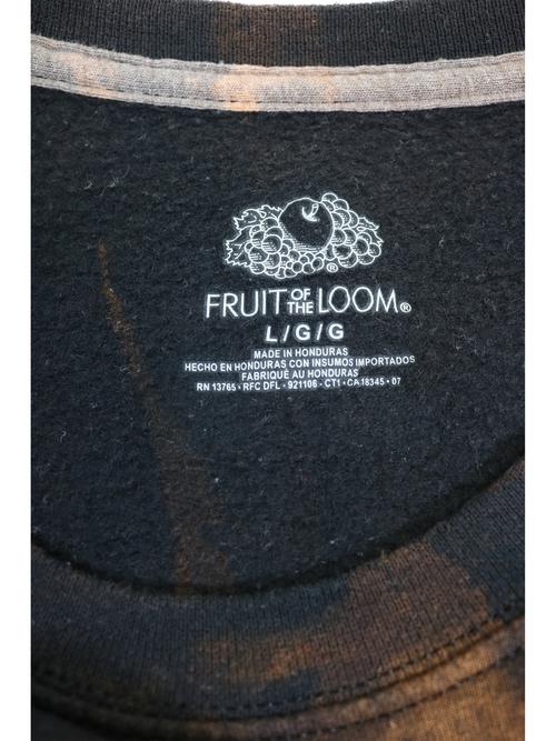 FRUIT OF THE LOOM Bleach sweat