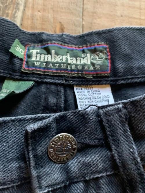 90s Timberland ワイドデニムショーツ