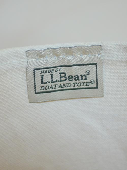 "L.L.Bean BOAT&TOTE CANVAS BAG ""Light Blue"""