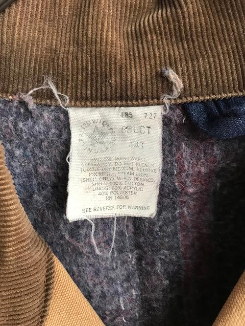 Vintage 90's USA《Carhartt》Duck Work Jacket