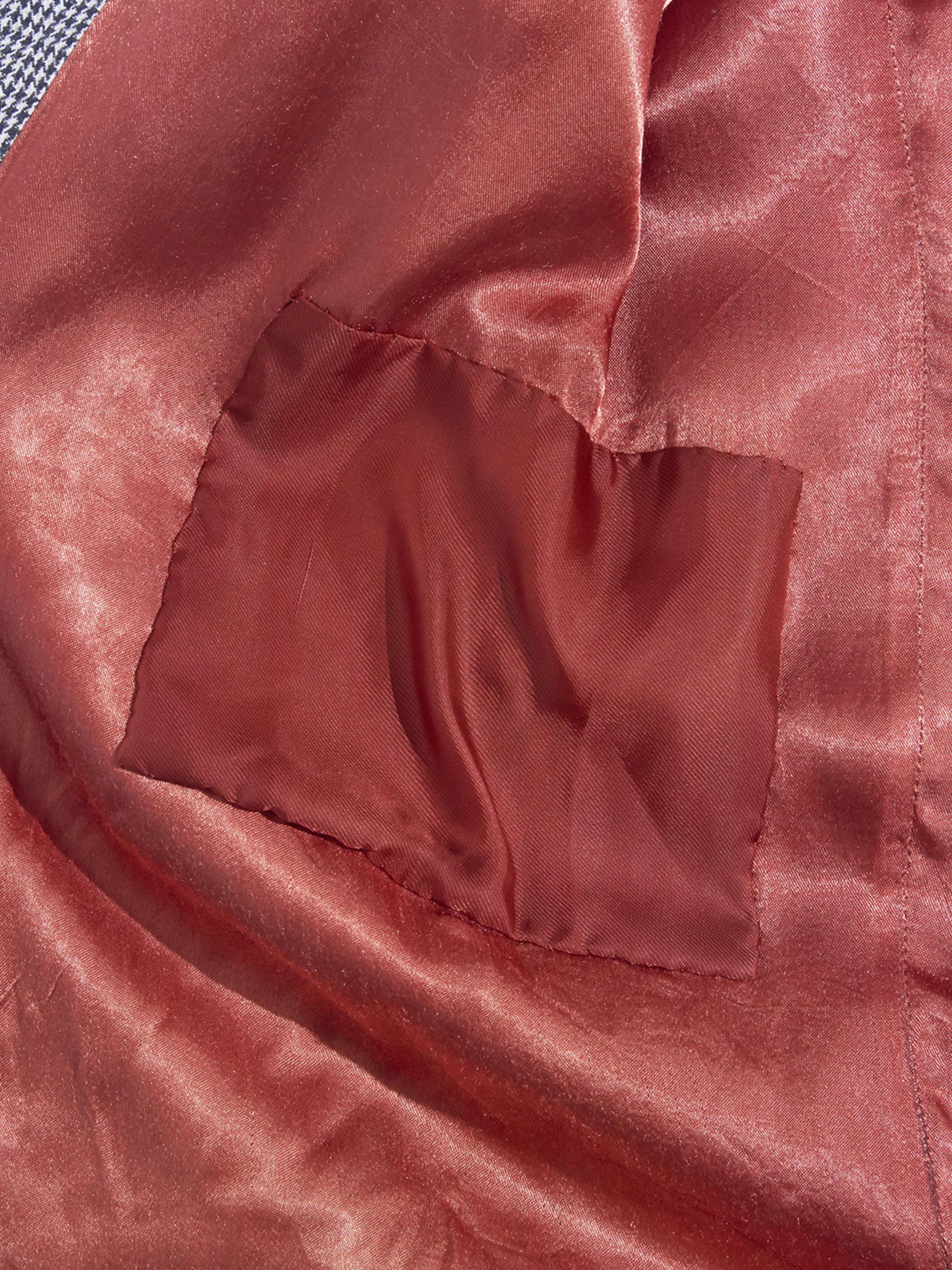 "1980s ""ESPRIT"" rayon pattern jacket -GREY-"