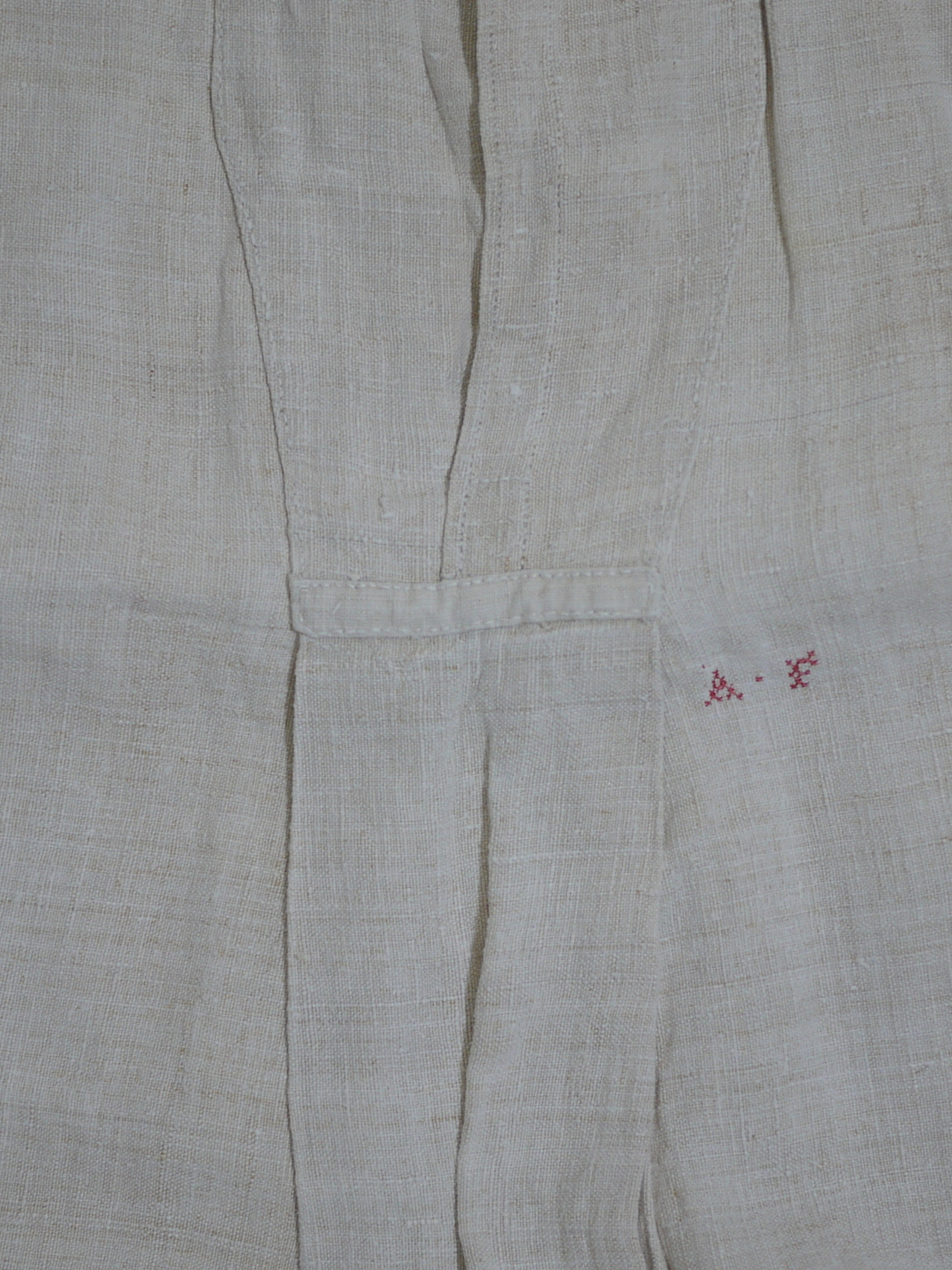 1910~20's French linen smock