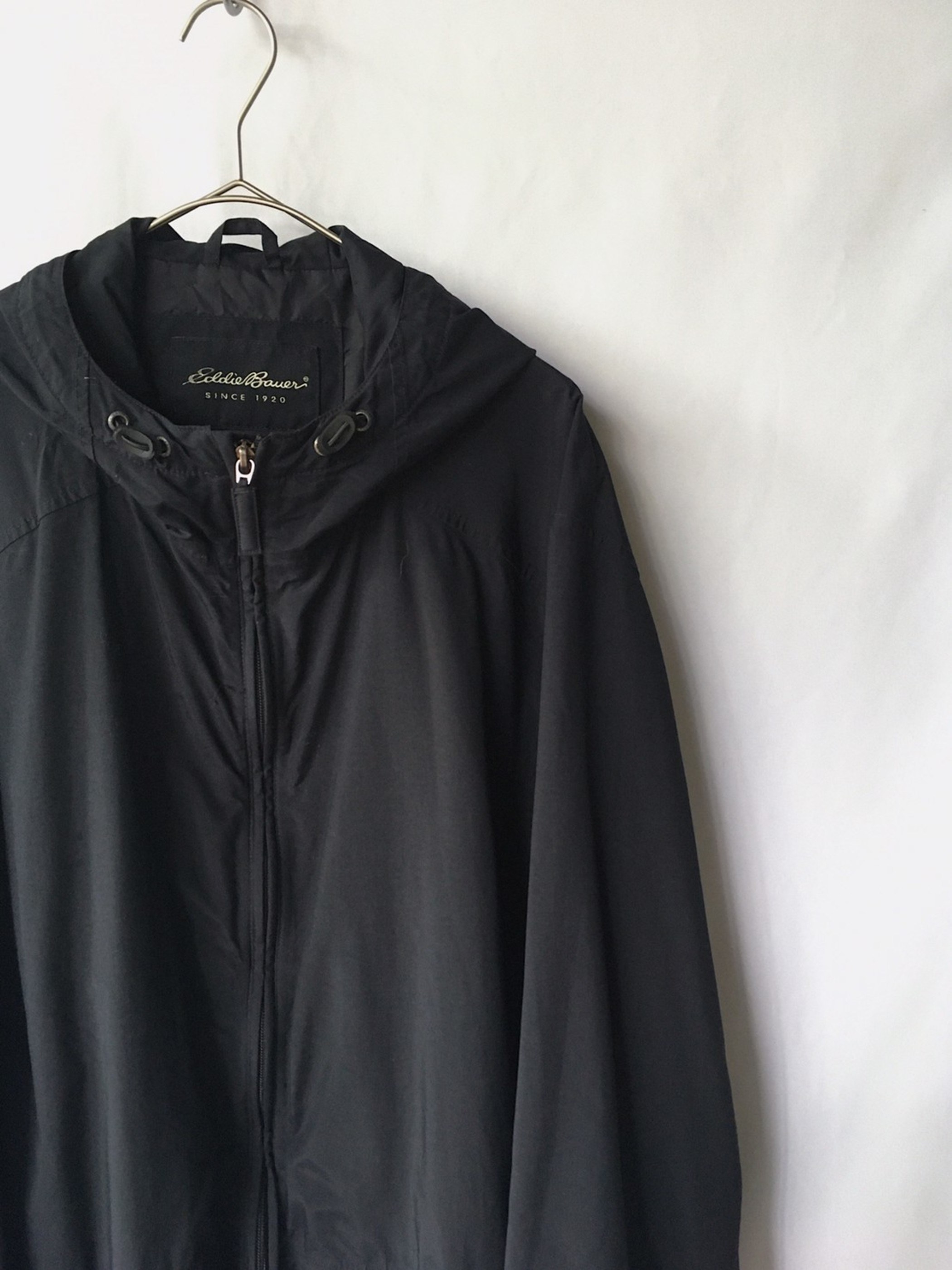 Eddie Bauer hooded long jacket 90s