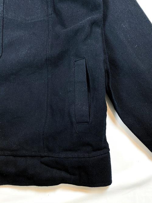 black twill jacket