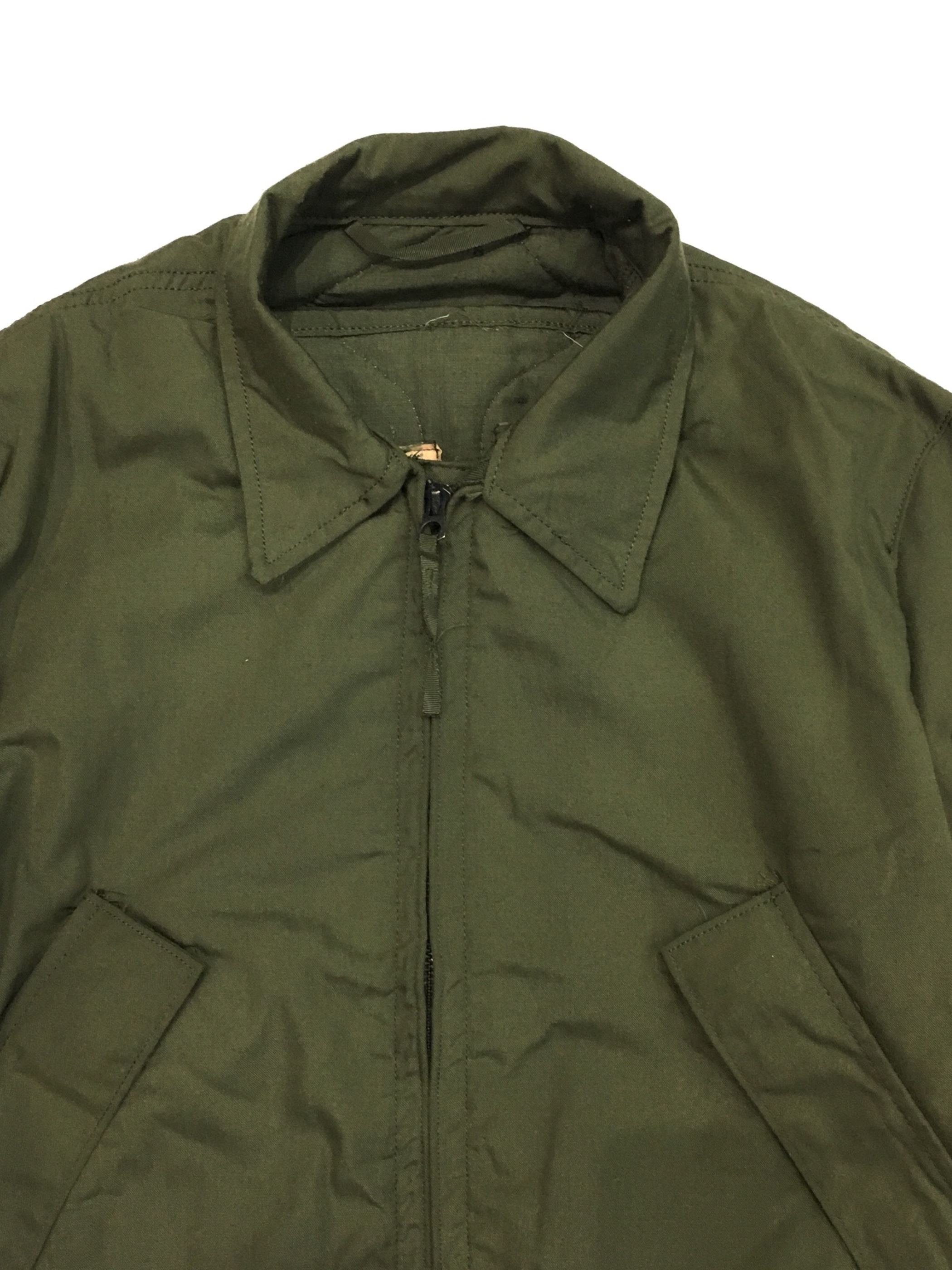 80's U.S.ARMY CVC JACKET(HIGH TEMPERATURE RESISTANT)