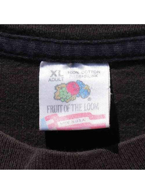"90's FASHION VICTIM ""MOHAWK SKULL"" USA製 Tシャツ [XL]"