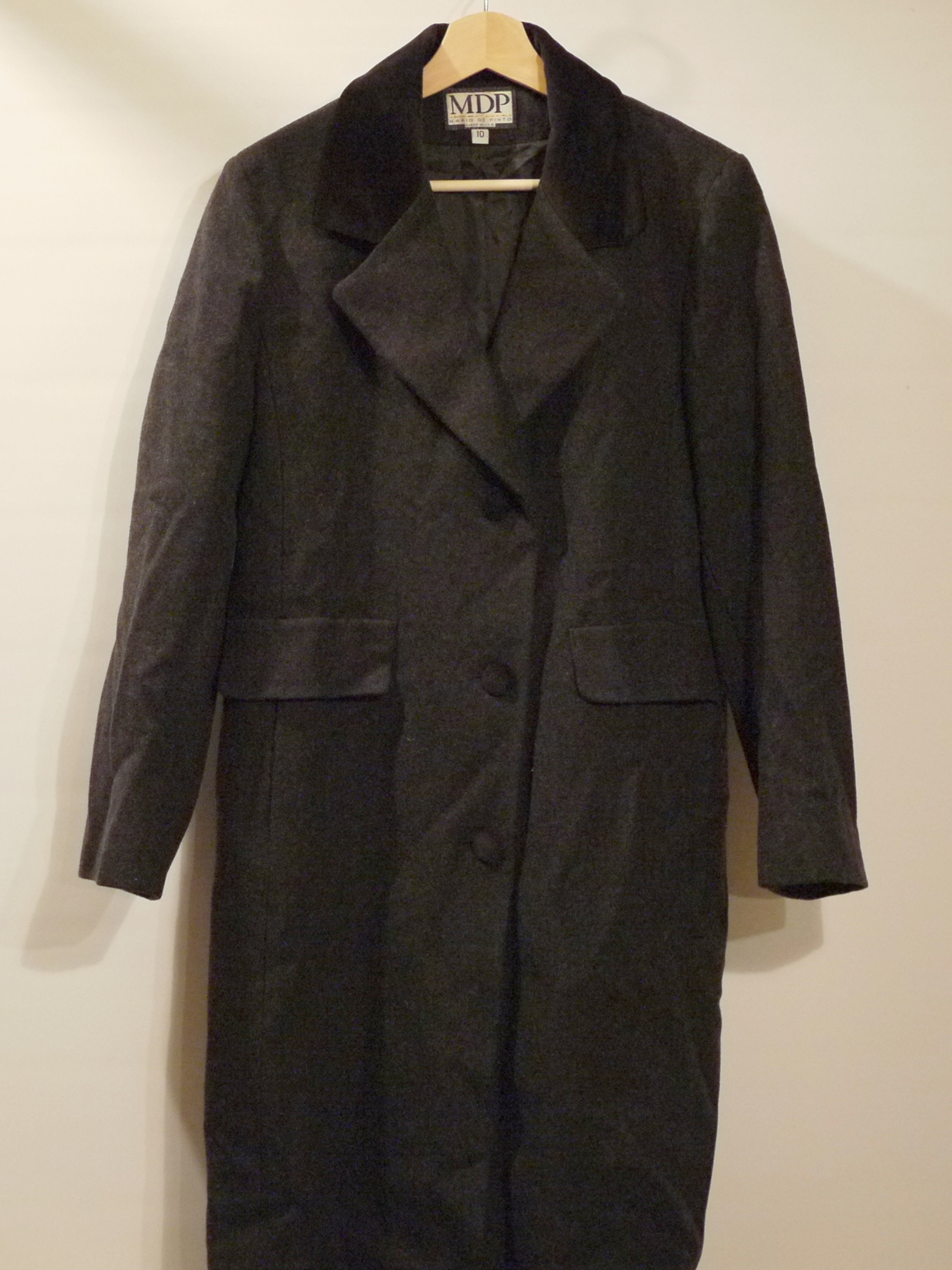 MDP Wool coat Size10