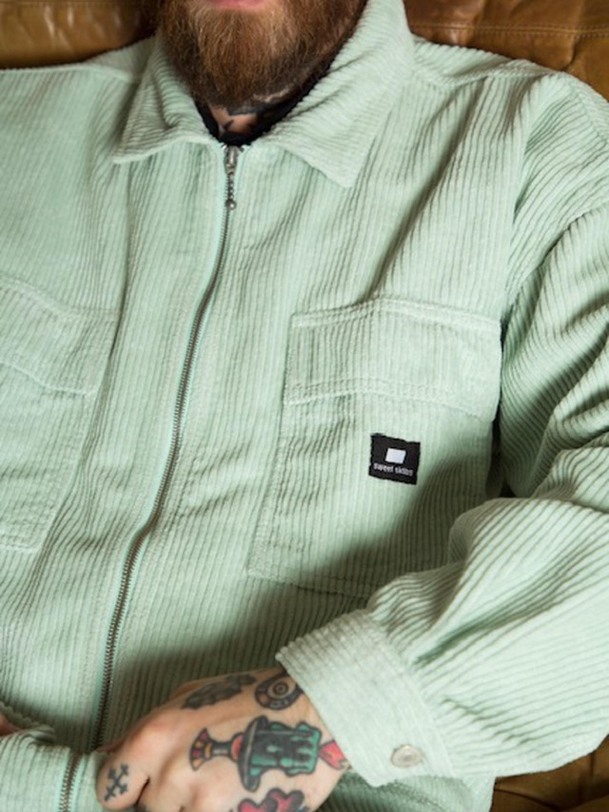 【NEW】SWEET SKTBS Zipped cord shirt