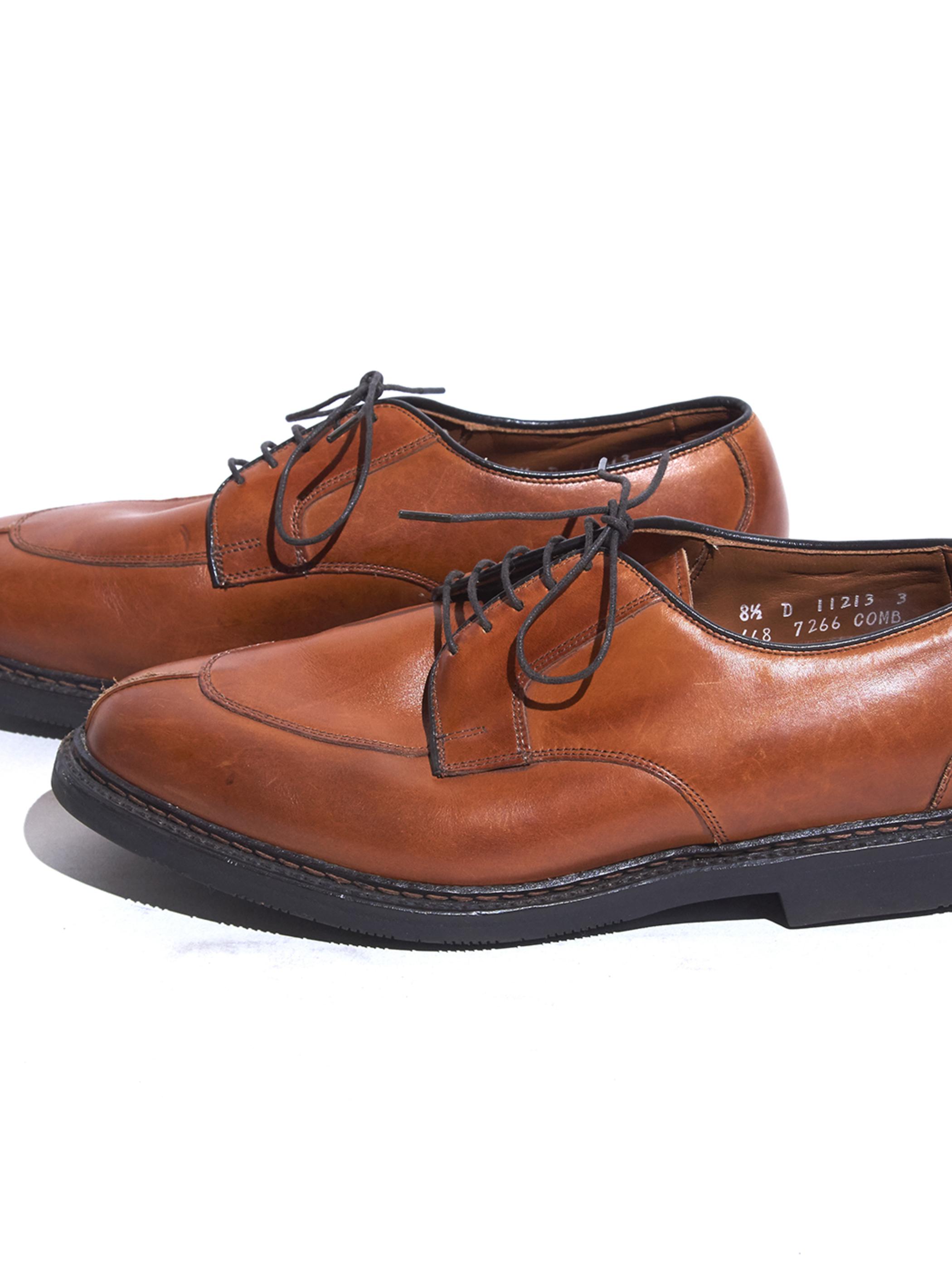 """1980s """"Allen Edmonds"""" leather shoes -BROWN-"""