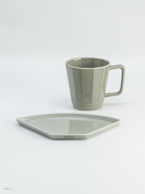イソザキ珈琲セットB【マグカップ&プレート 1セット×コーヒー 100ℊ】