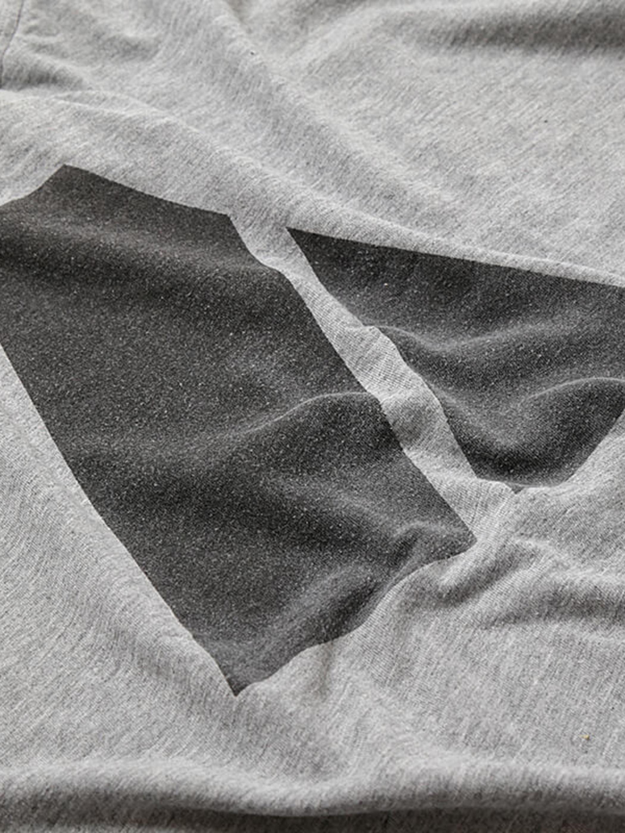 US Army × hallelu Products / ARMY Logo Reflector Back Print Big T-Shirt