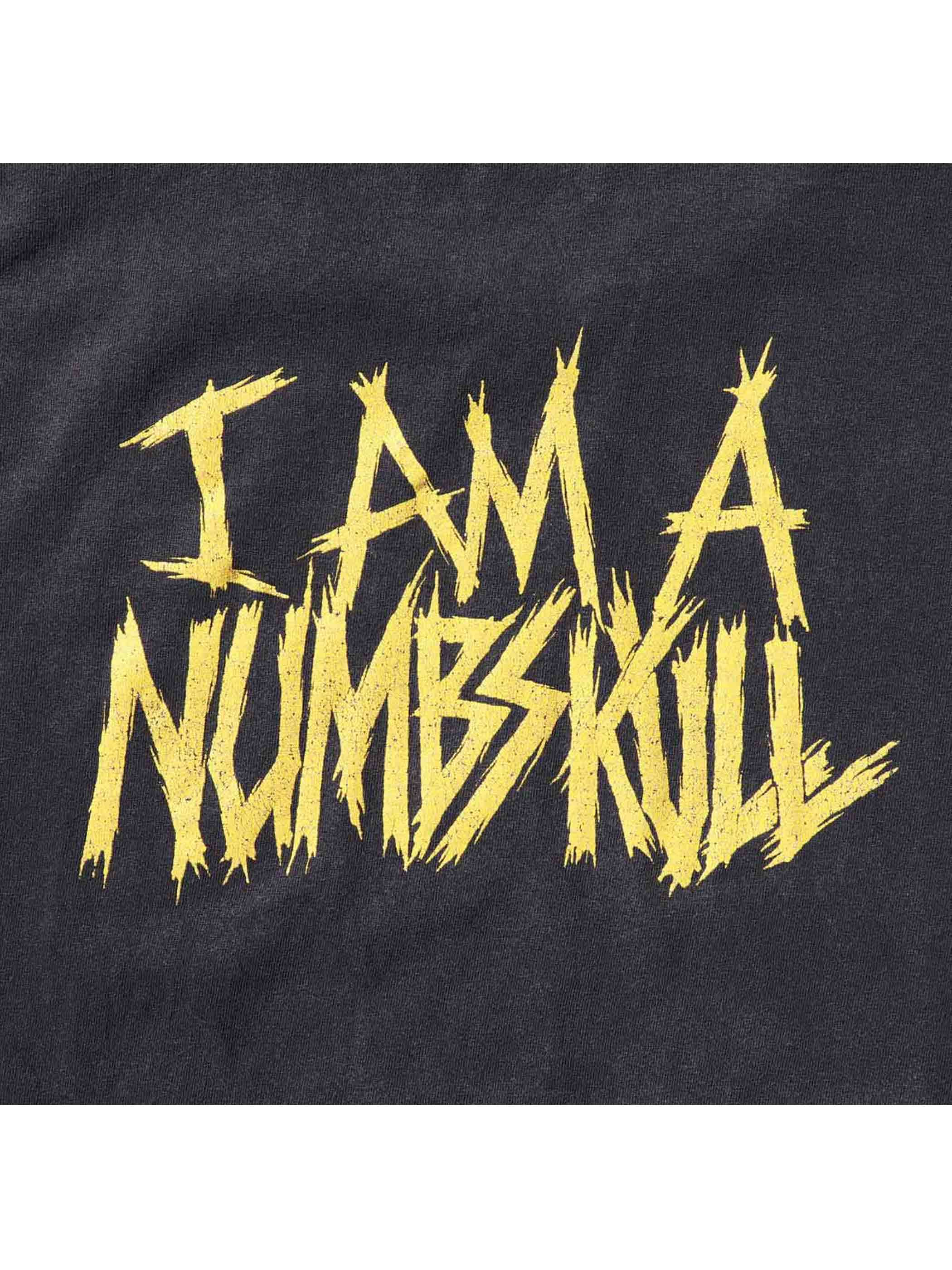 "00's GHOUL ""MANIAXE / I AM A NUMBSKULL"" プリントTシャツ [About XL]"