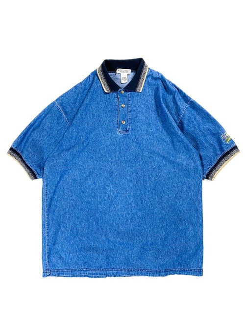 dungaree polo shirt