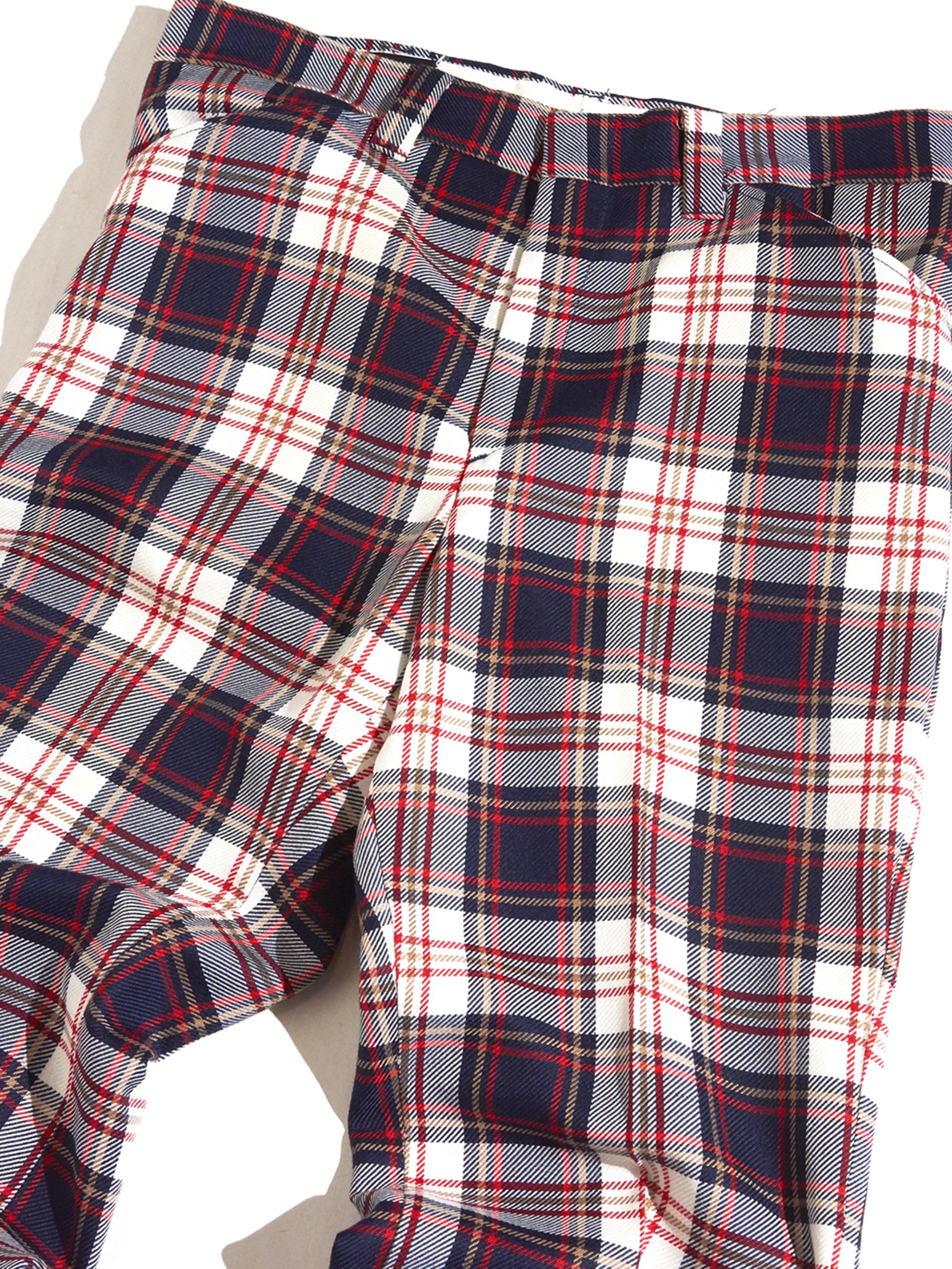 """1970s """"Wrangler"""" polyester frare slacks -CHECK-"""