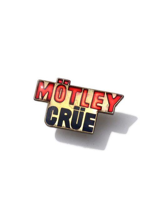 80's MOTLEY CRUE エナメルピンズ