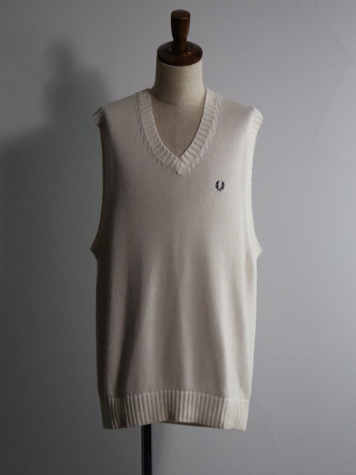 Fred Perry Cotton Knit Vest