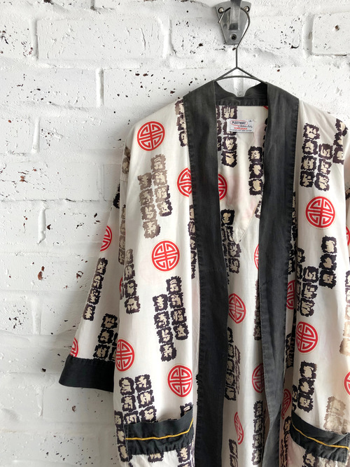 "Vintage USA 60's PLEETWAY ""KIMOJAMA"" happi shirt"