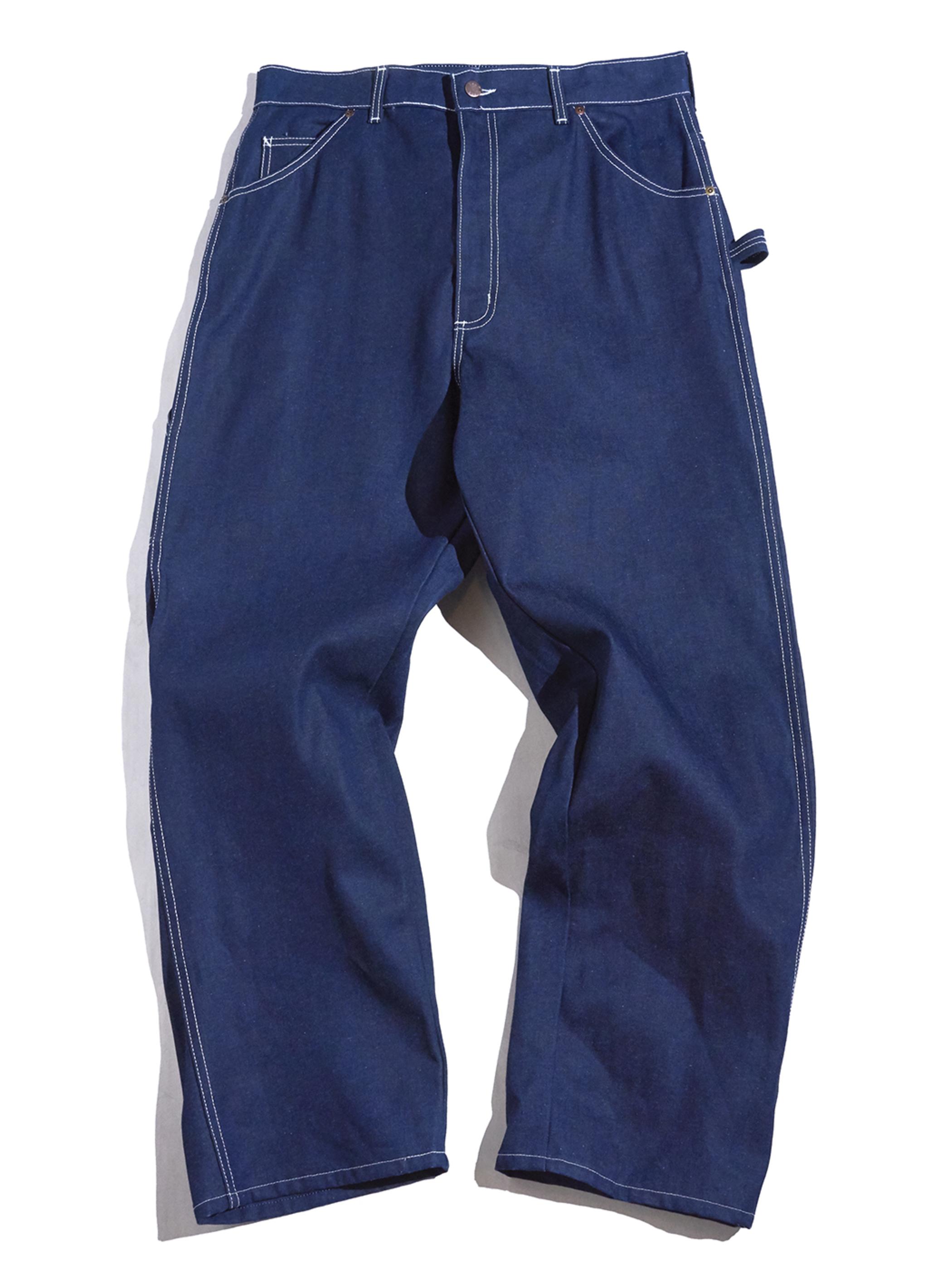 "1970s NOS ""BIG YANK"" denim painter pants -INDIGO-"