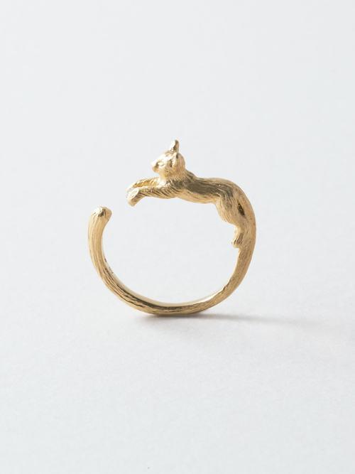 CAT DIAMOND RING