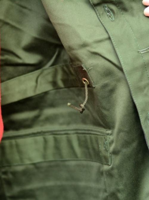 DEADSTOCK SWEDISH MILITARY M-59 FIELD JACKET OLIVE