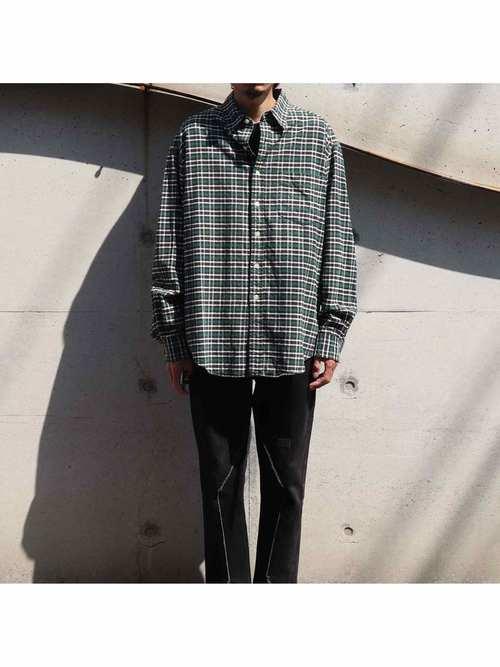 90's GAP フランネルシャツ [L]