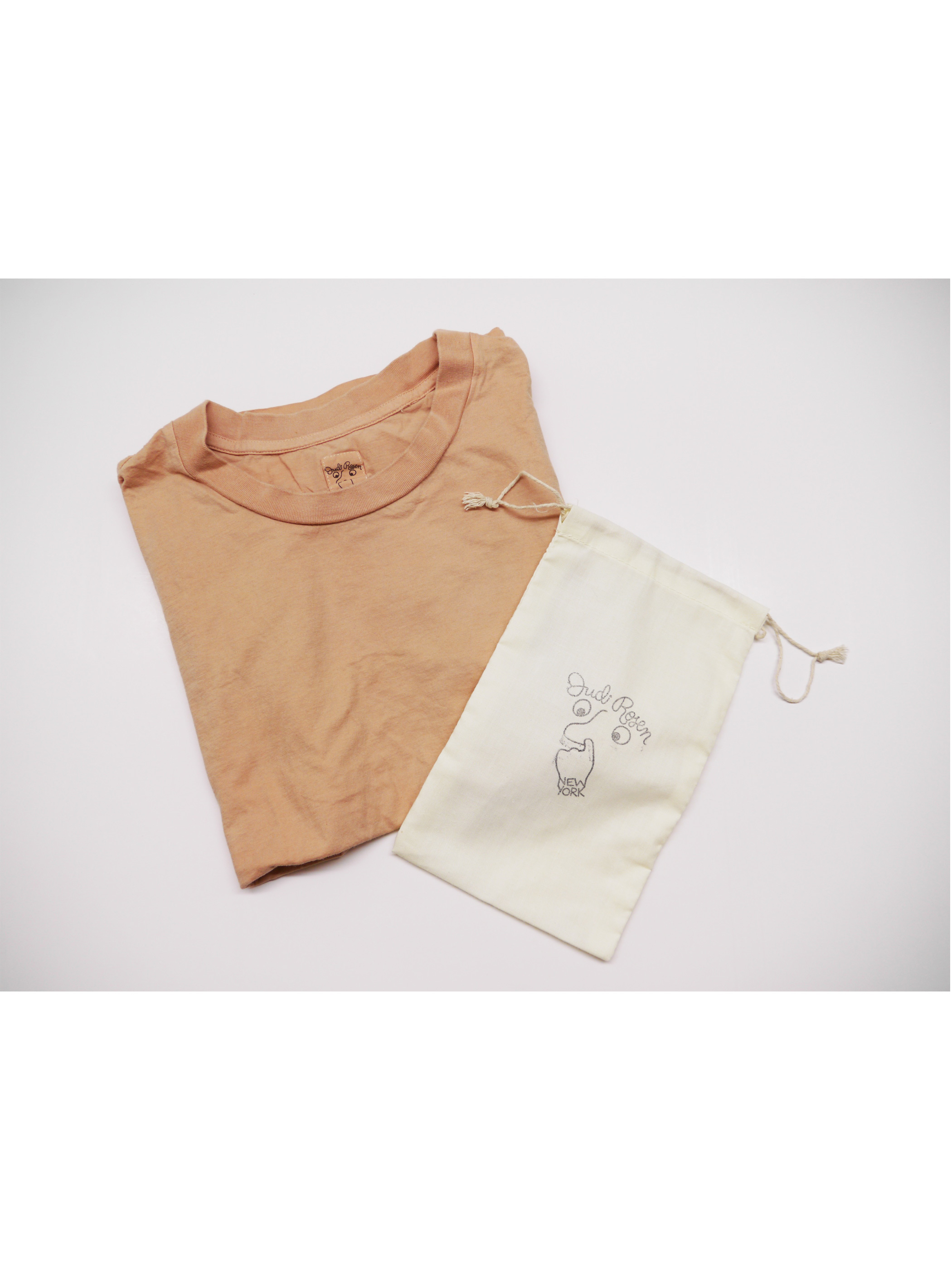 [Judi Rosen]Avocado Dye T-shirts