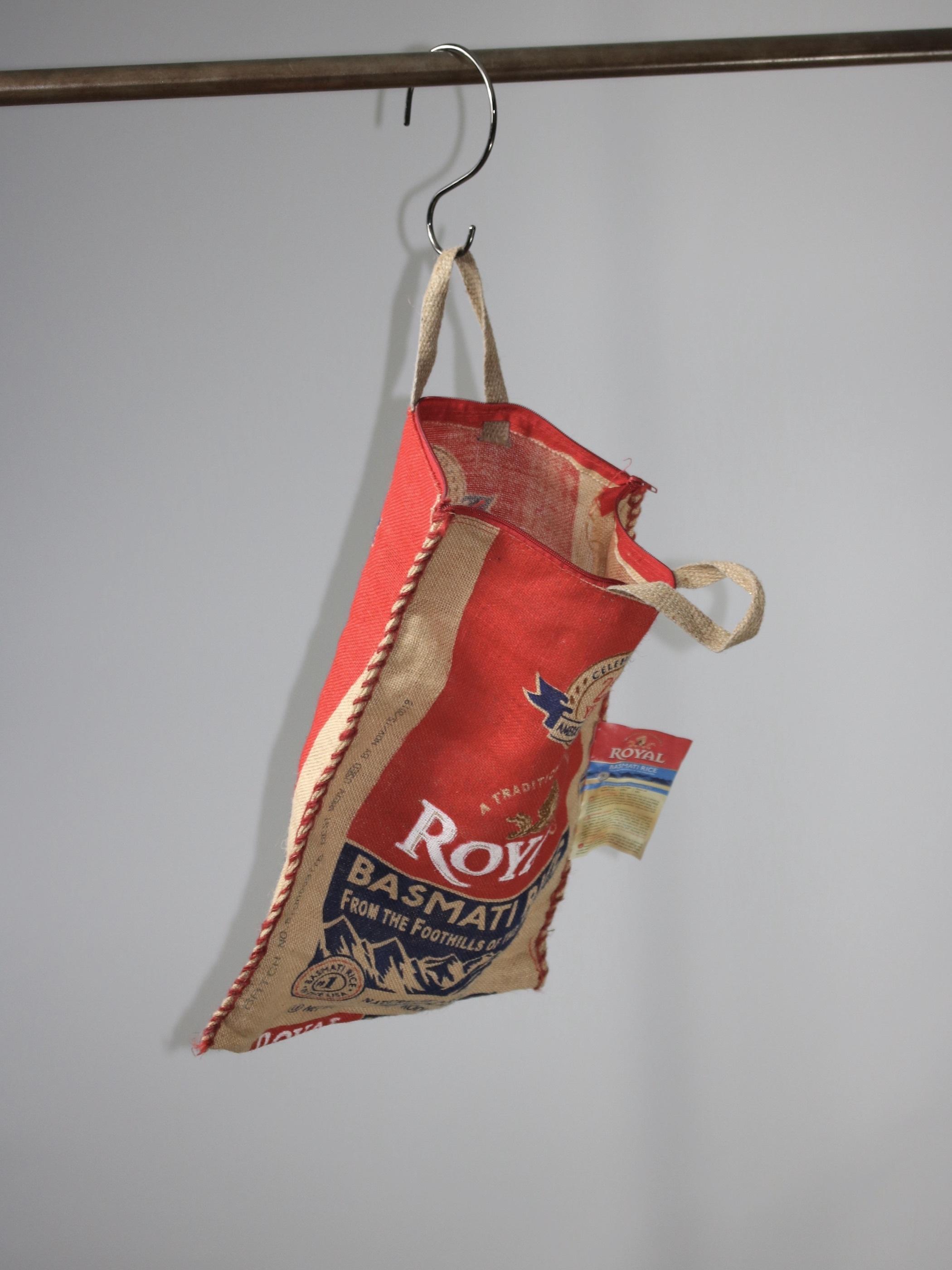 Royal Basmati Rice Linen Hand Bag