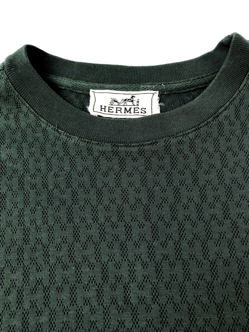 HERMES / patterned T-shirts(USED)