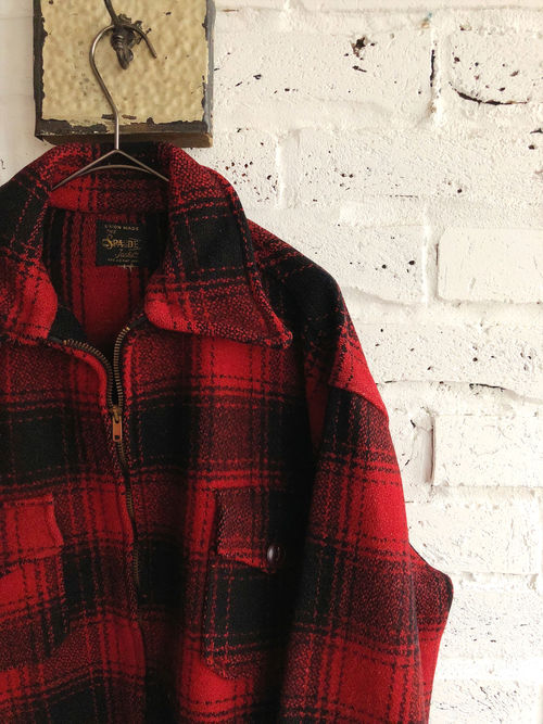 50's-60's SPAIDE Wool Mackinaw Jacket