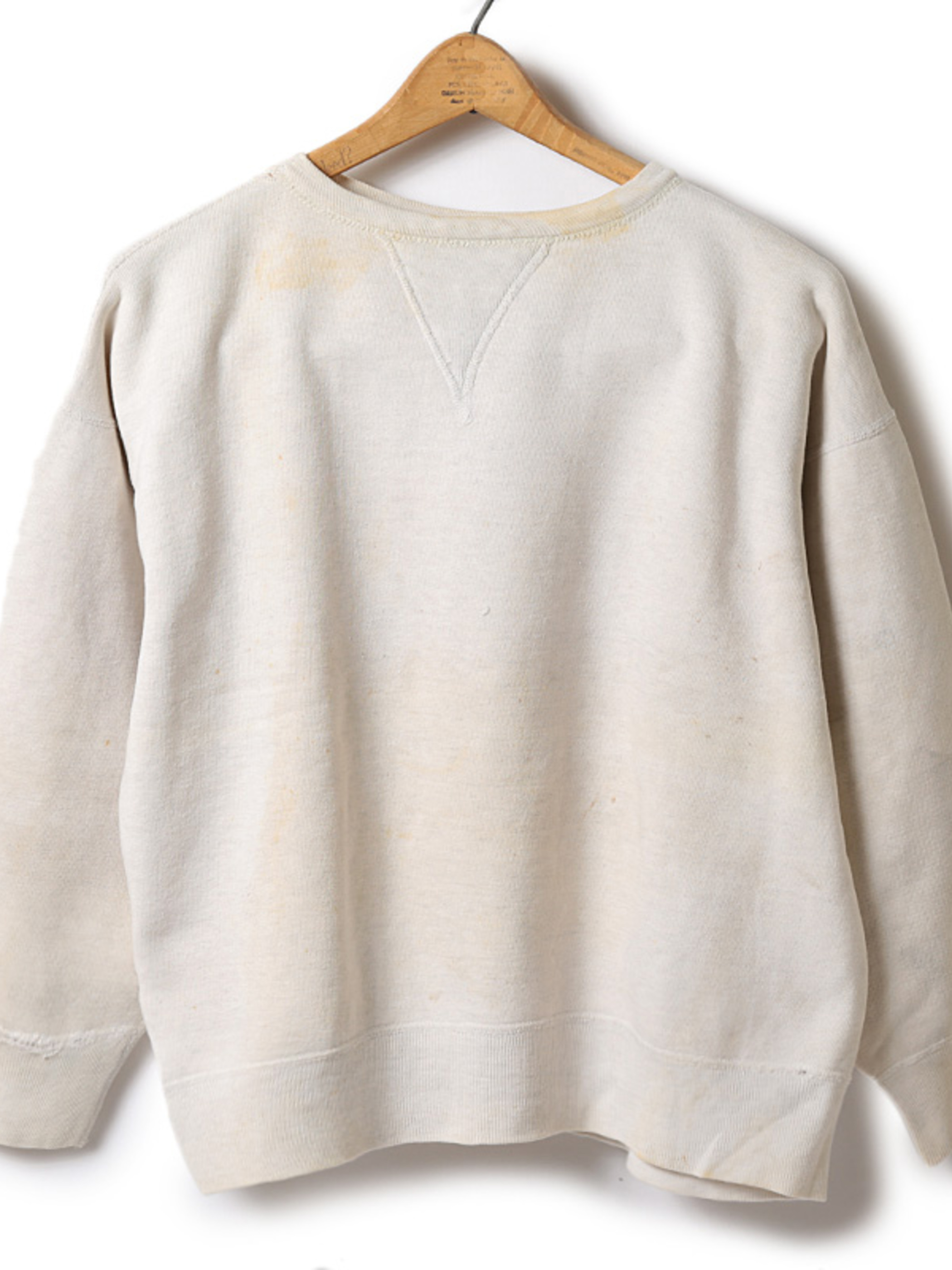 Used / 1950's Crew Neck Sweat / M Size