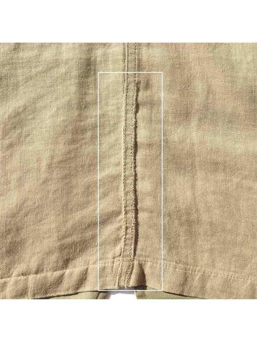 90's BANANA REPUBLIC リネン/コットン サファリジャケット [M]