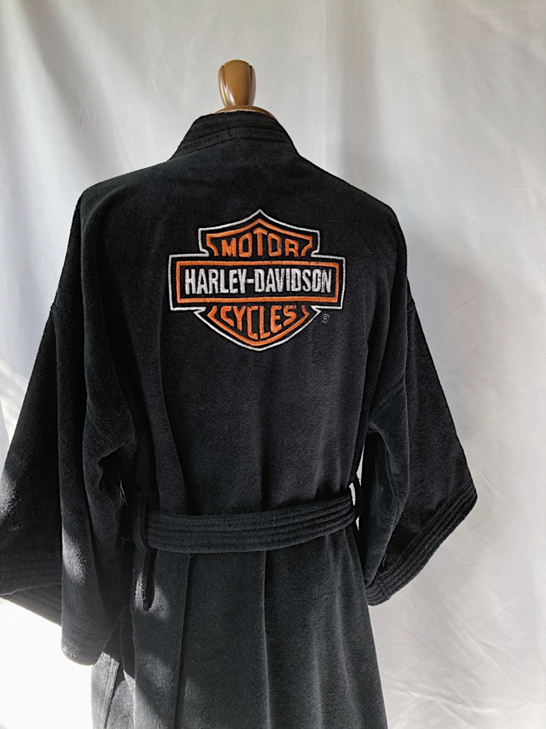 Harley-Davidson pile gown