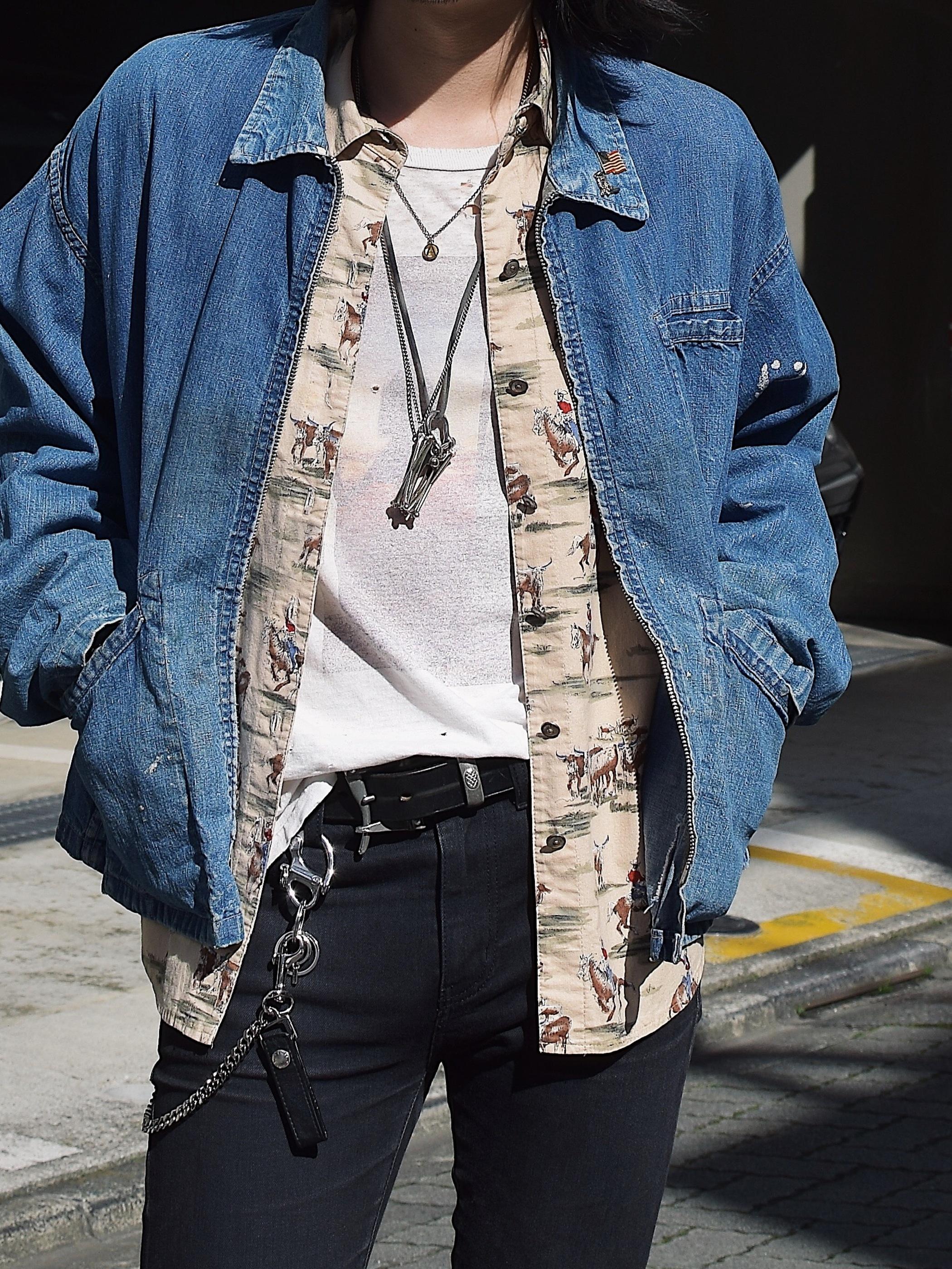 Vintage 40〜50's【a Pella Weather-Fo GARMENT】Denim Jacket