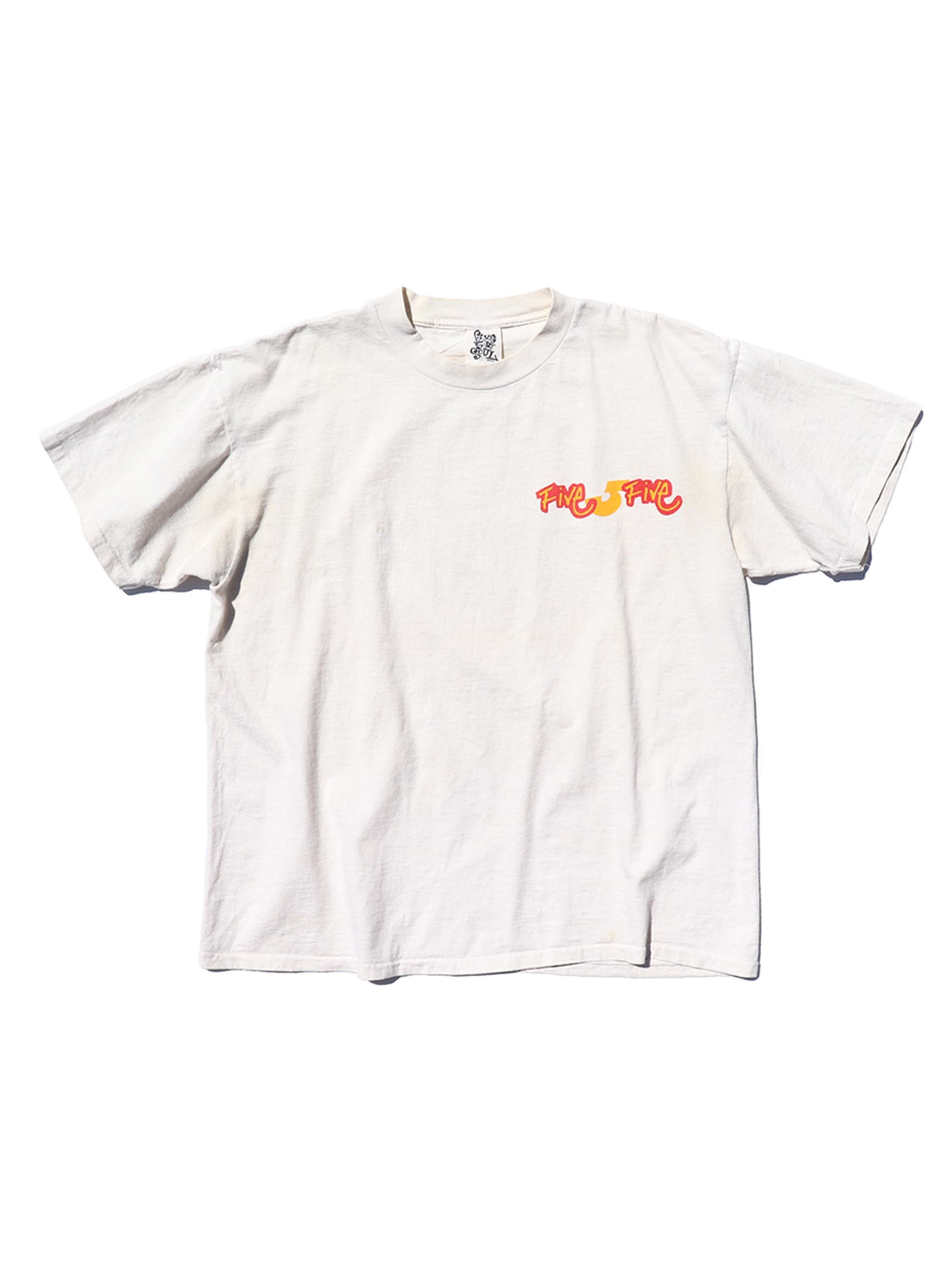 90's TRIPLE FIVE SOUL プリントTシャツ [About XL]