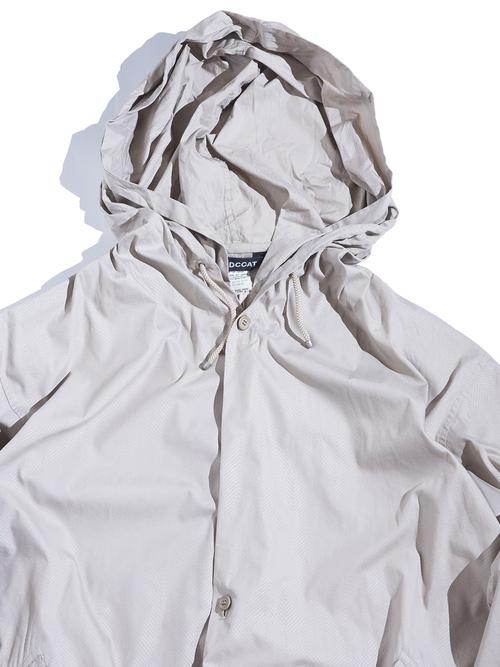 """2000s """"WIND COAT"""" hooded shell jacket -BEIGE-"""